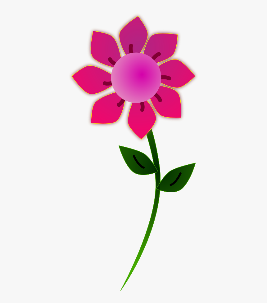 Pink Sun Flower Vector File Vector File Flower Clipart Png