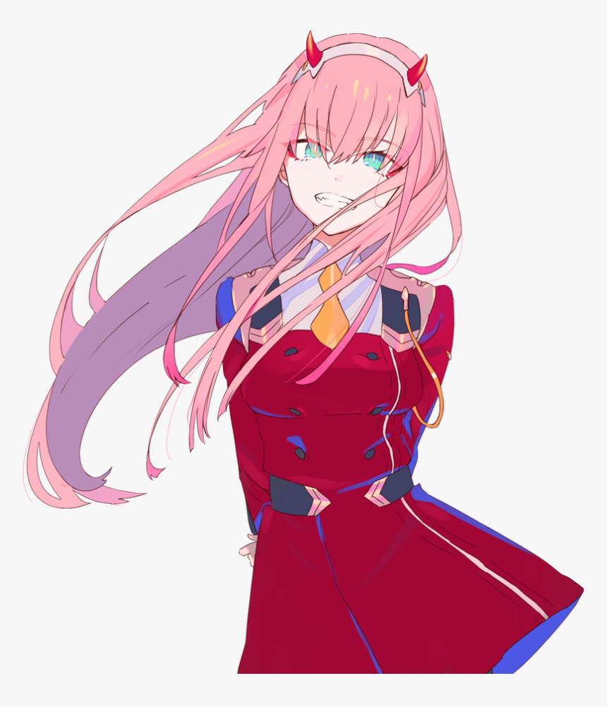 Zero Two 💓 • • - Darling In The Franxx Zero10, HD Png Download