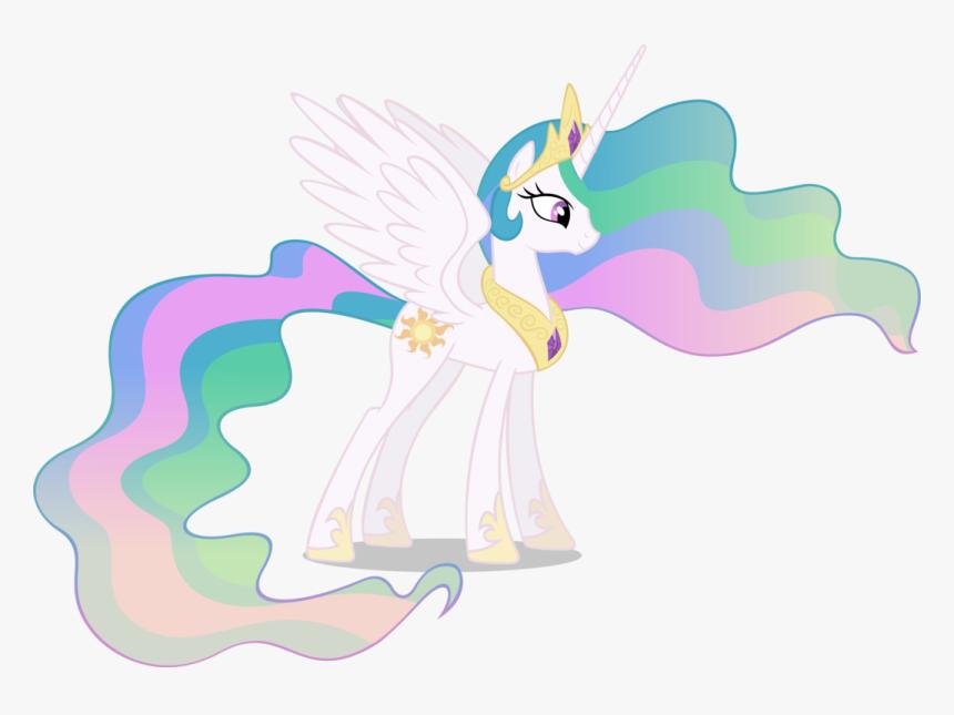 Princess Celestia Pony - Princess Celestia Transparent, HD Png Download , Transparent  Png Image - PNGitem