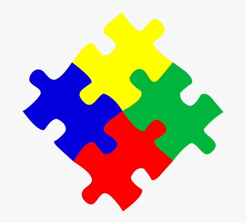 Puzzle Piece Border Quotes - Autism Puzzle Piece Clipart ...
