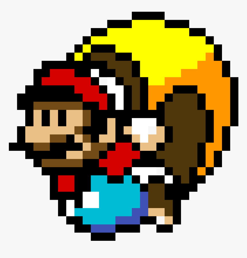 Transparent Minecraft Cape Png Pixel Art Mario Bros Png