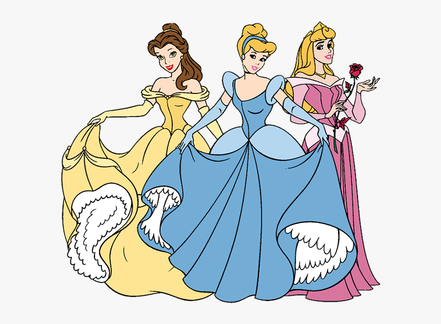 Disney Princess Clipart All Princess In Clipart Hd Png Download