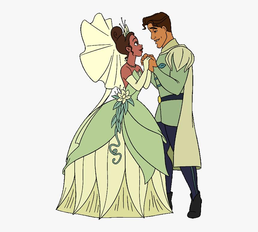 princess and the frog tiana and naveen