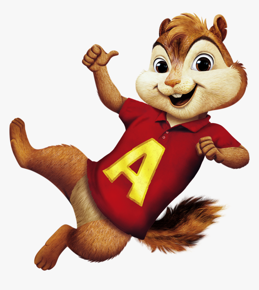 Vector Squirrel Chipmunk - Alvin And The Chipmunks Sticker, HD Png ...
