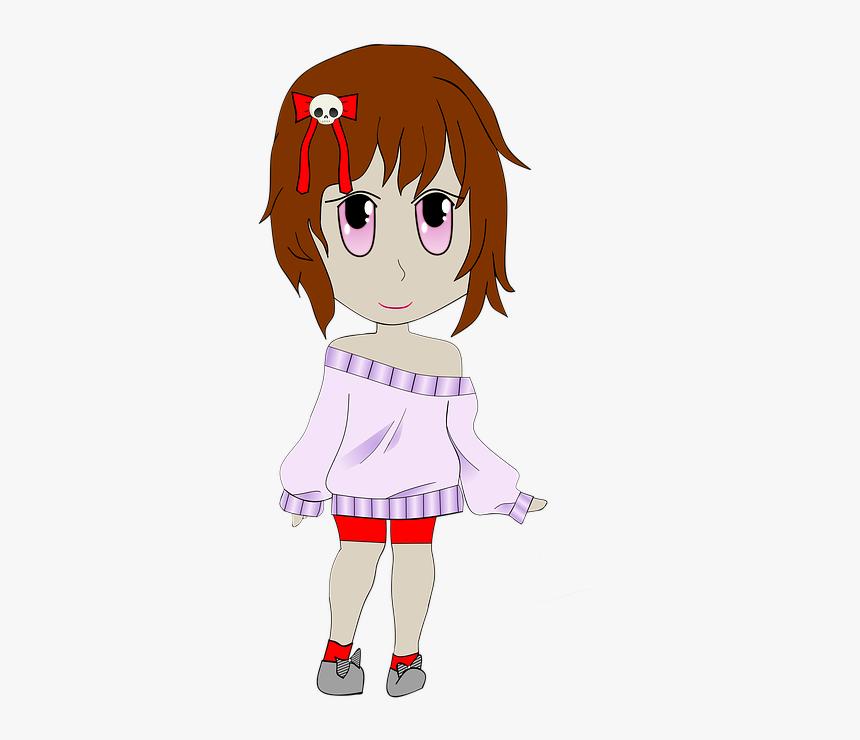 Chibi Manga Anime Cartoon Girl Woman Comic Sweet