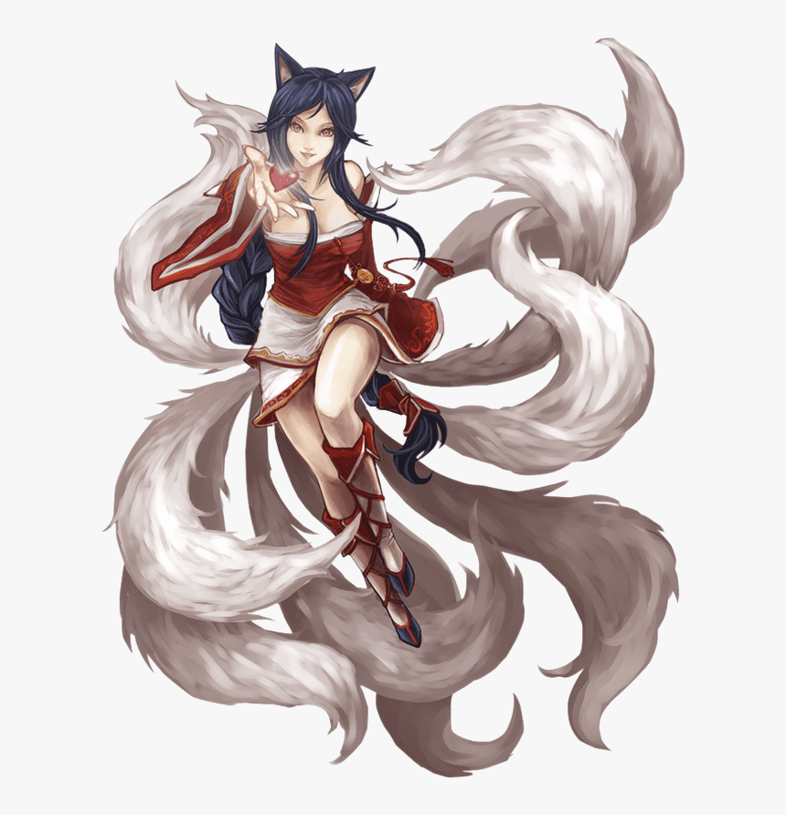 Ahri From League Of Legends Ahri Png Transparent Png Transparent Png Image Pngitem