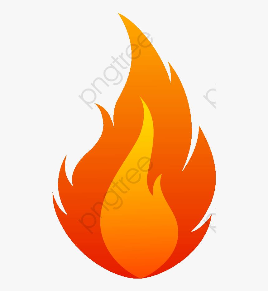 Flames Fire Vector And Feu Dessin De Flamme Hd Png Download