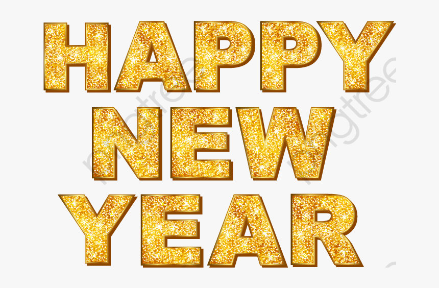 new years clipart gold happy new year text png transparent png transparent png image pngitem new years clipart gold happy new year