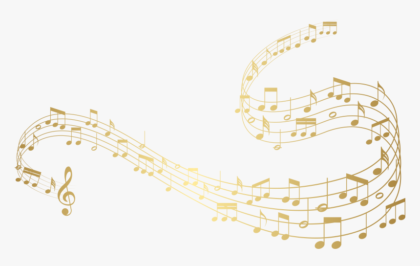 Gold Music Notes Clipart Colorful Transparent Background Music Notes Hd Png Download Transparent Png Image Pngitem