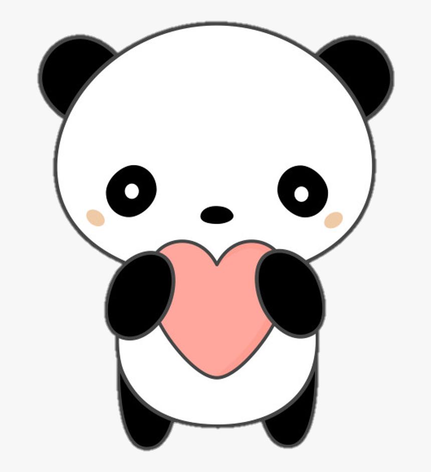 Panda Stickers Png Panda Kawaii Png Transparent Png
