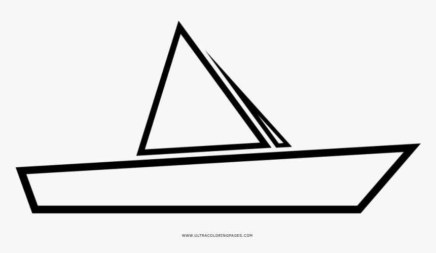 Paper Boat Coloring Page Barco De Papel Para Colorear Hd Png Download Transparent Png Image Pngitem