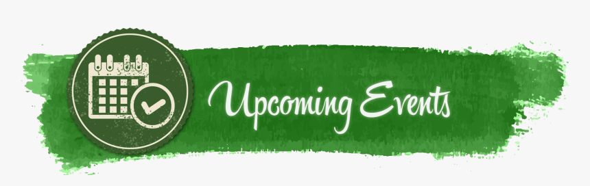 Upcoming Events Upcoming Events Banner Green Hd Png Download Transparent Png Image Pngitem