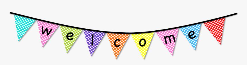 Transparent Banner Clipart Png - Transparent Welcome Banner Clip Art, Png Download