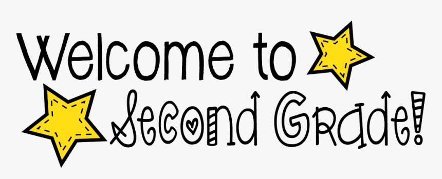 Welcome To Second Grade Clipart - Welcome To Second Grade Banner, HD Png  Download , Transparent Png Image - PNGitem
