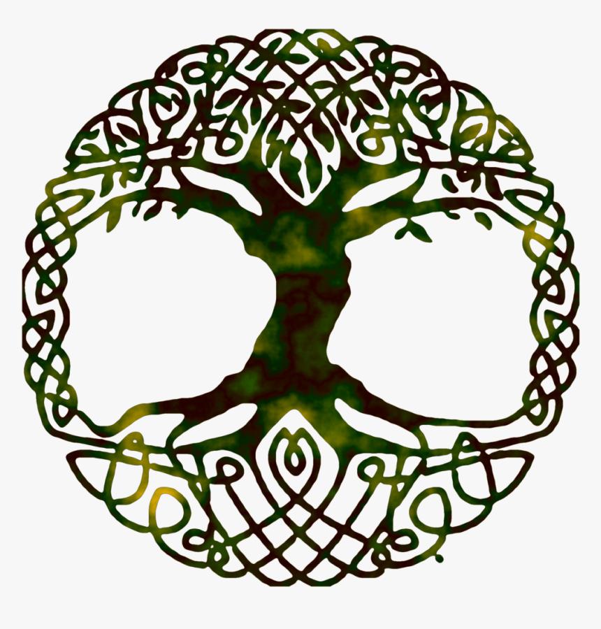 Life Of Symbol Tree Yggdrasil World Gospel Clipart - Yggdrasil ...