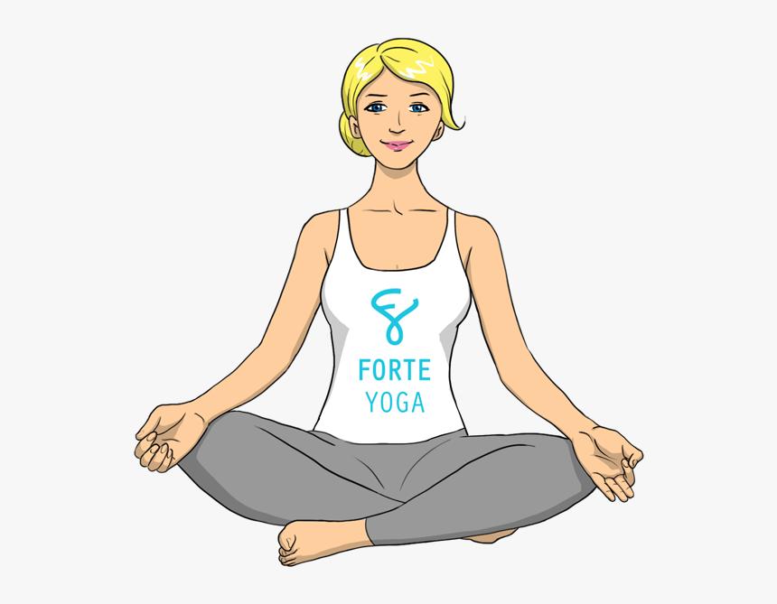 Transparent Yoga Pose Png Easy Yoga Pose Cartoon Png Download Transparent Png Image Pngitem