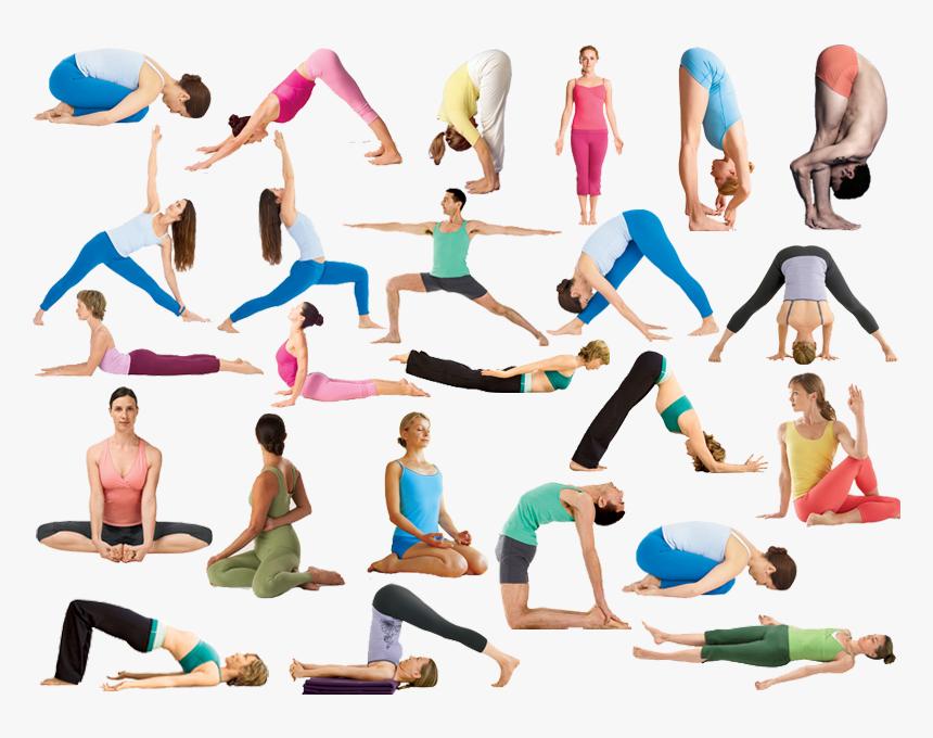 Flow Yoga Poses Hot Yoga Poses Names Hd Png Download Transparent Png Image Pngitem