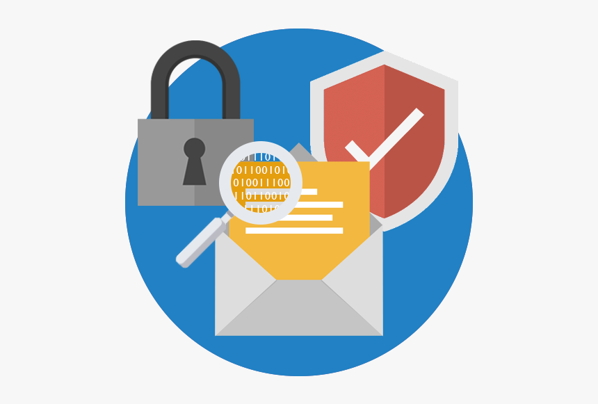 Webservio Email Security Icon - Email Security Png, Transparent ...