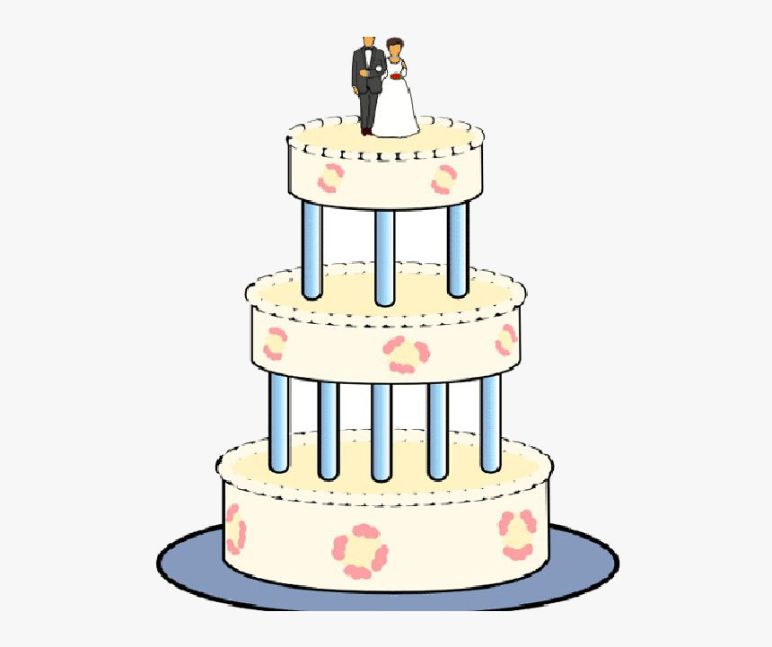 Wedding Cake Clipart Free Transparent Cartoons Wedding Cake Hd Png Download Transparent Png Image Pngitem