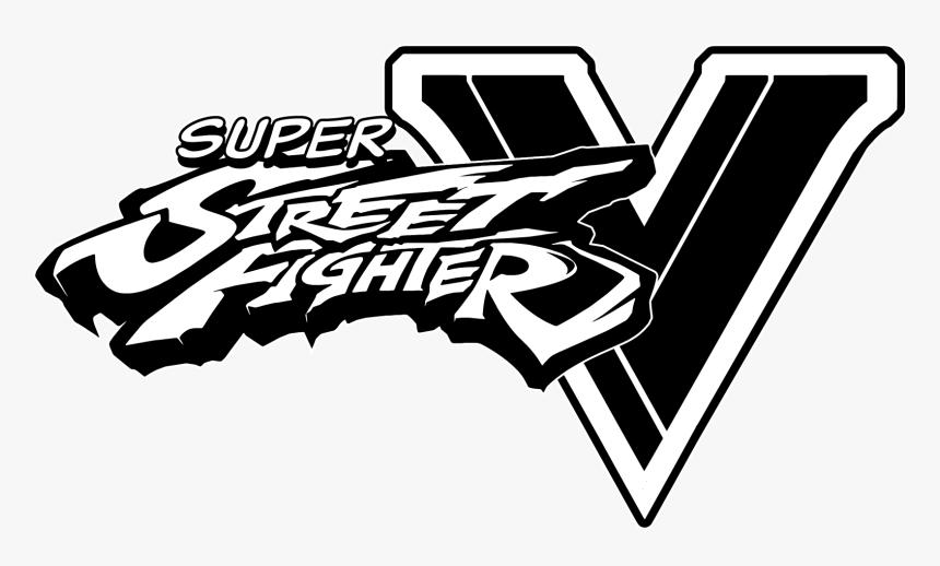 Street Fighter V Logo White Hd Png Download Transparent Png