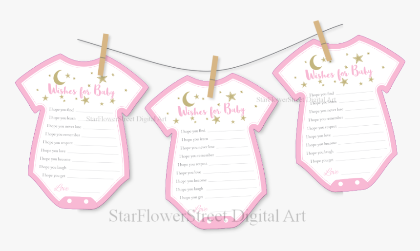 Clothesline Baby Shower Twinkle Star Moon Pink Gold Cut Out Printable Baby Shower Decorations Hd Png Download Transparent Png Image Pngitem