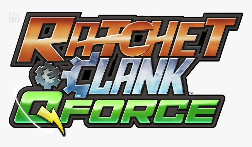 Ratchet And Clank Q Force Logo Hd Png Download Transparent Png Image Pngitem