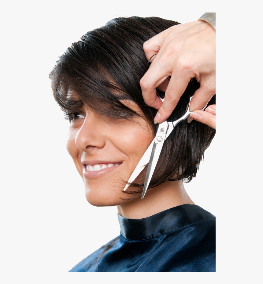 Transparent Hair Stylist Png Download Hd Pics Of Hair Cutting Png Download Transparent Png Image Pngitem