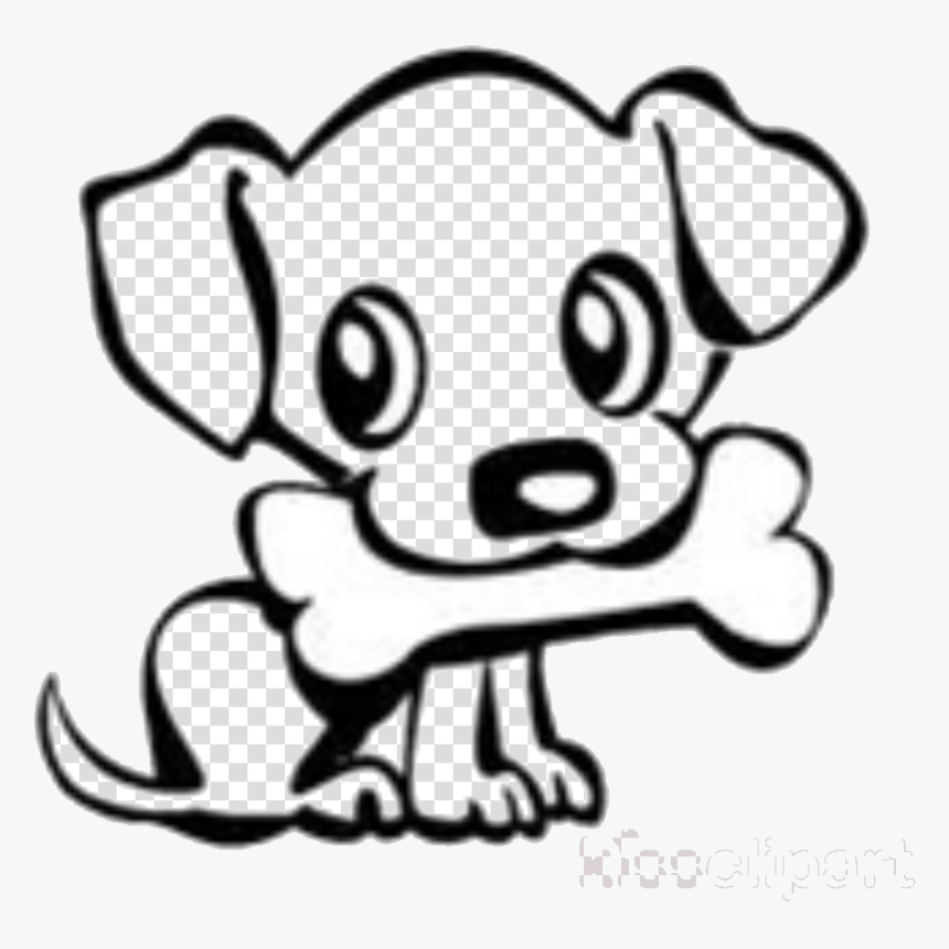 Easy Puppy Clipart Cute Dog Drawing Transparent Cartoon Easy