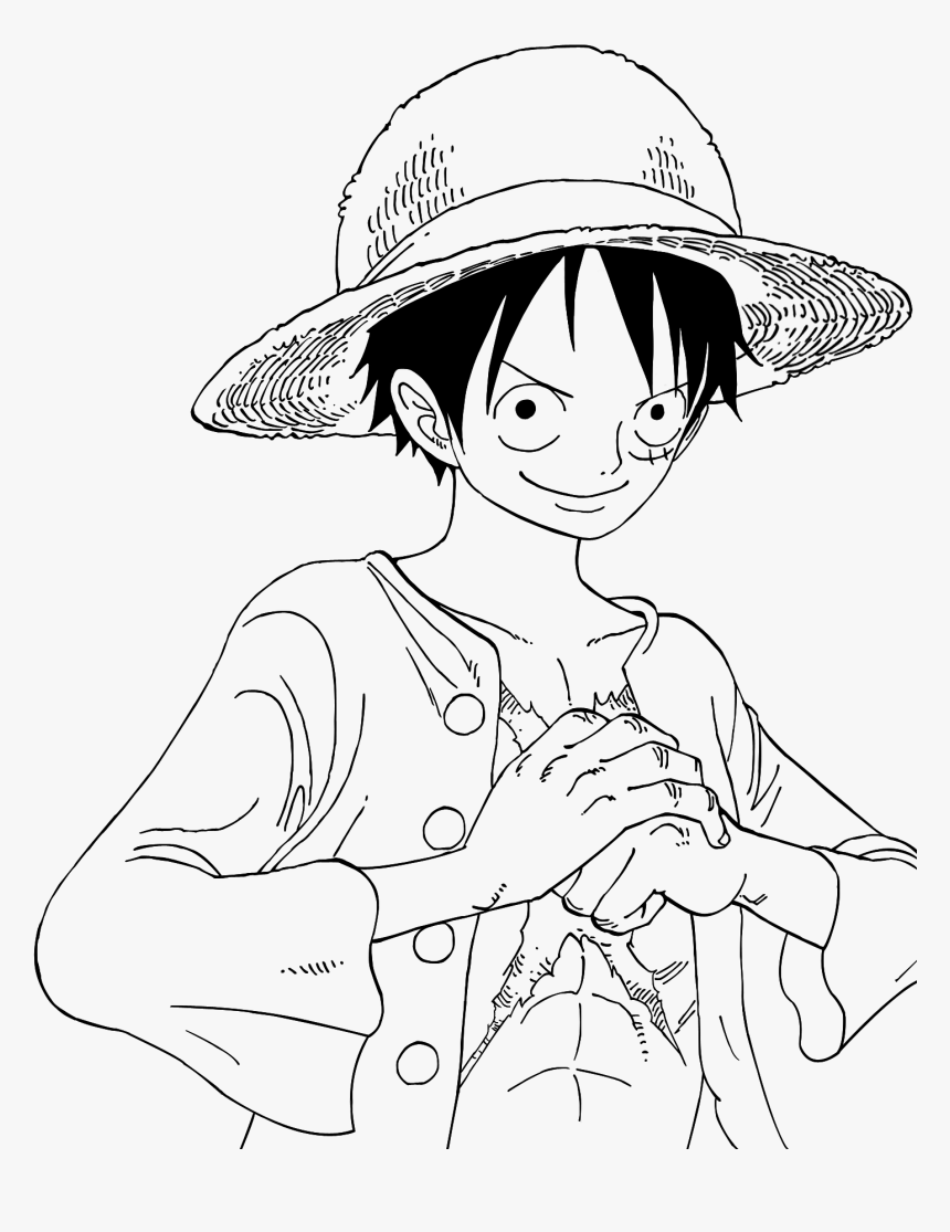 Coloriage De One Piece Luffy Elegant Photo Coloriage One Piece 2 Years Later Hd Png Download Transparent Png Image Pngitem