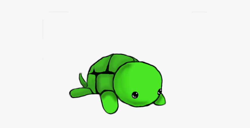 Cute Turtle Drawing Turtle Drawing Easy Cute Hd Png Download