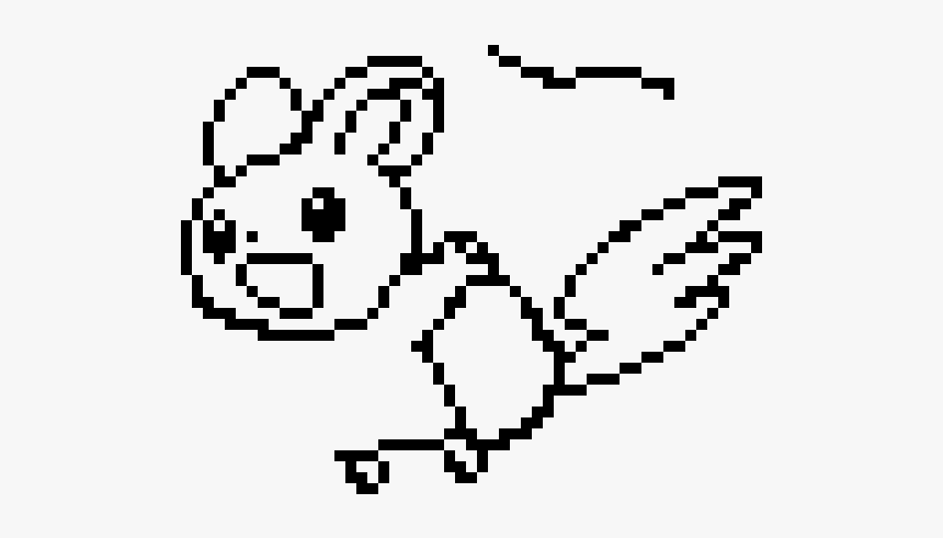 Dessin Pixel Emoji Pokemon Hd Png Download Transparent