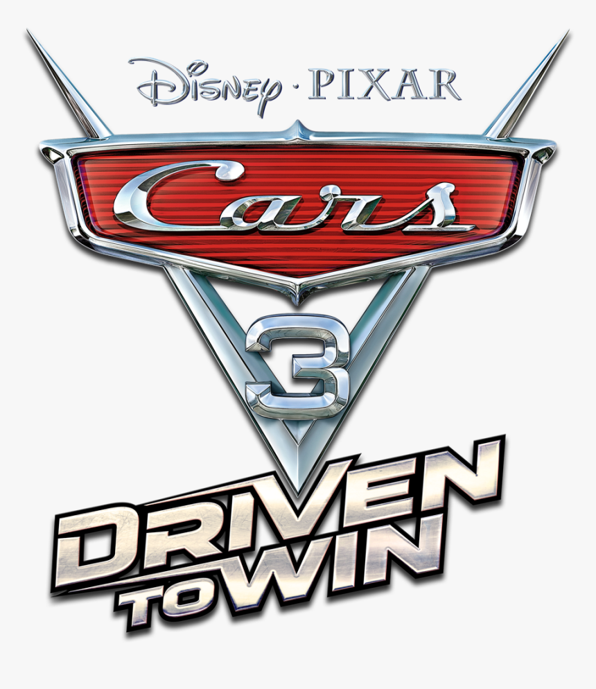 Cars 3 Driven To Win Logo Hd Png Download Transparent Png Image