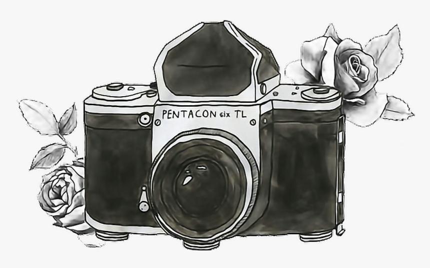 Tumblr Photography Png Maquina Fotografica Desenho Camera