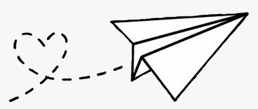 Transparent Clipart Flugzeug Desenhar Um Aviao De Papel Hd Png