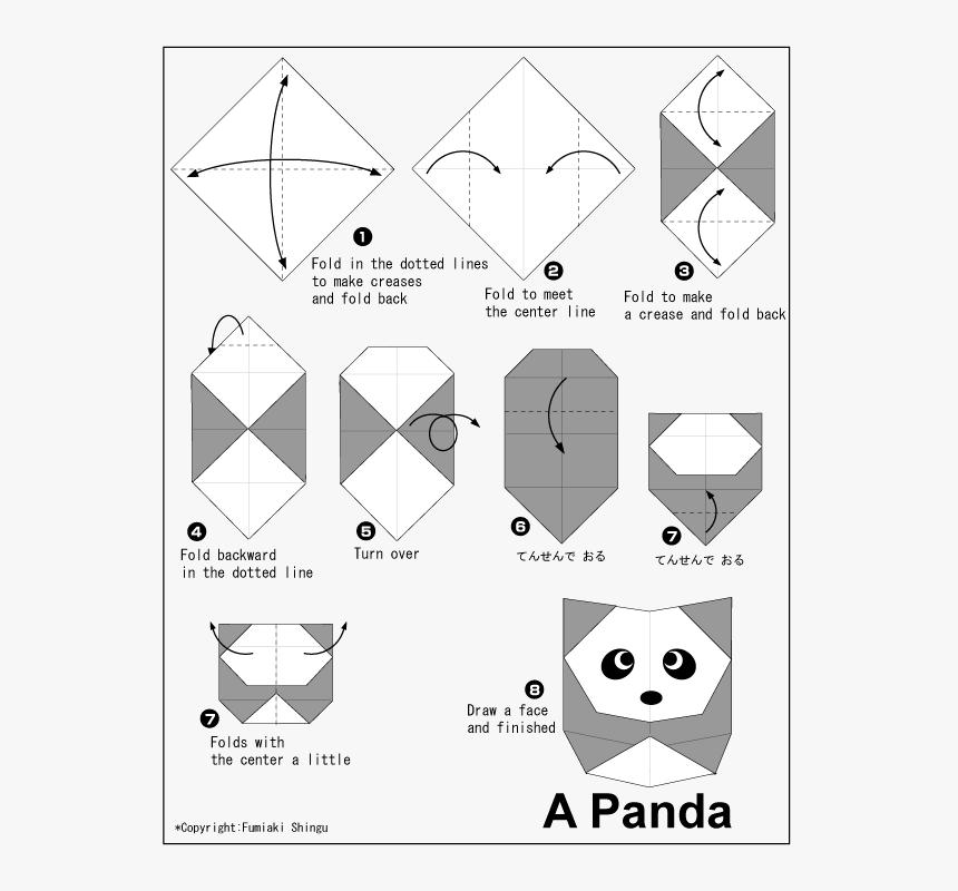 How to Make an Easy Origami Panda | 800x860