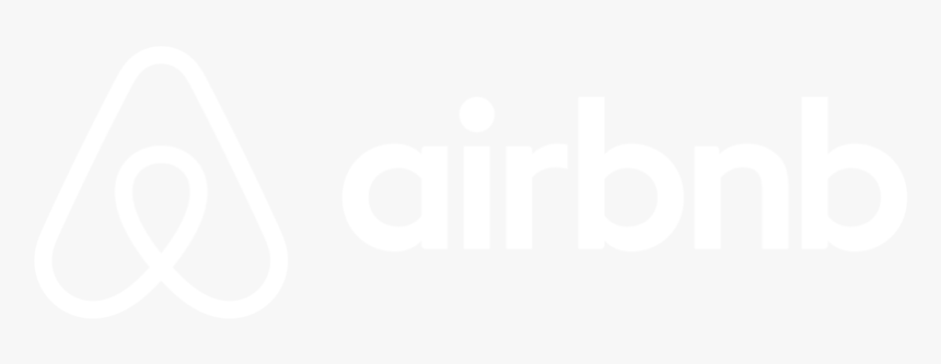 Airbnb Horizontal Lockup White Web Hd Png Download Transparent