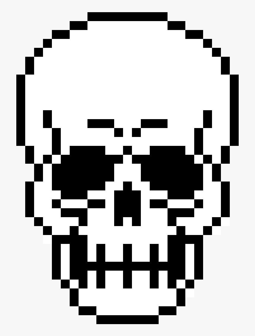 Pixel Skull Png Pixel Art Skull Transparent Png