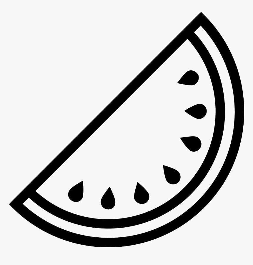 Icon Free Download Black And White Watermelon Png Transparent Png Transparent Png Image Pngitem