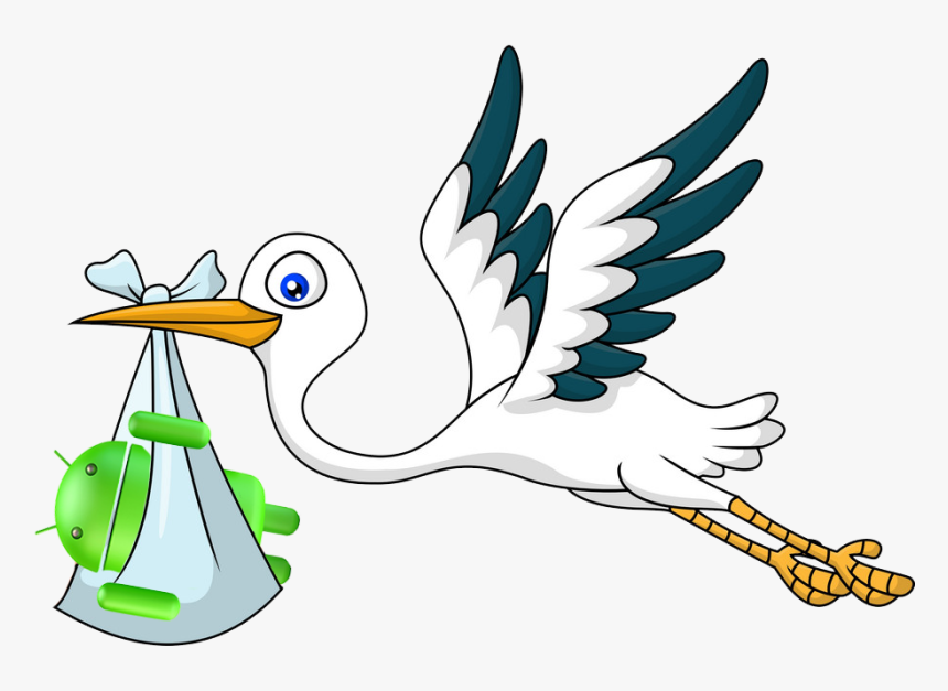 Free PNG Stork Baby Clip Art Download - PinClipart