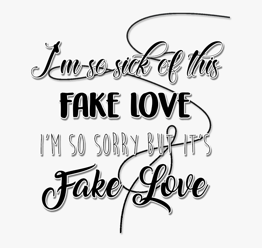 257 2576842 png bts and fakelove image fake love lyrics