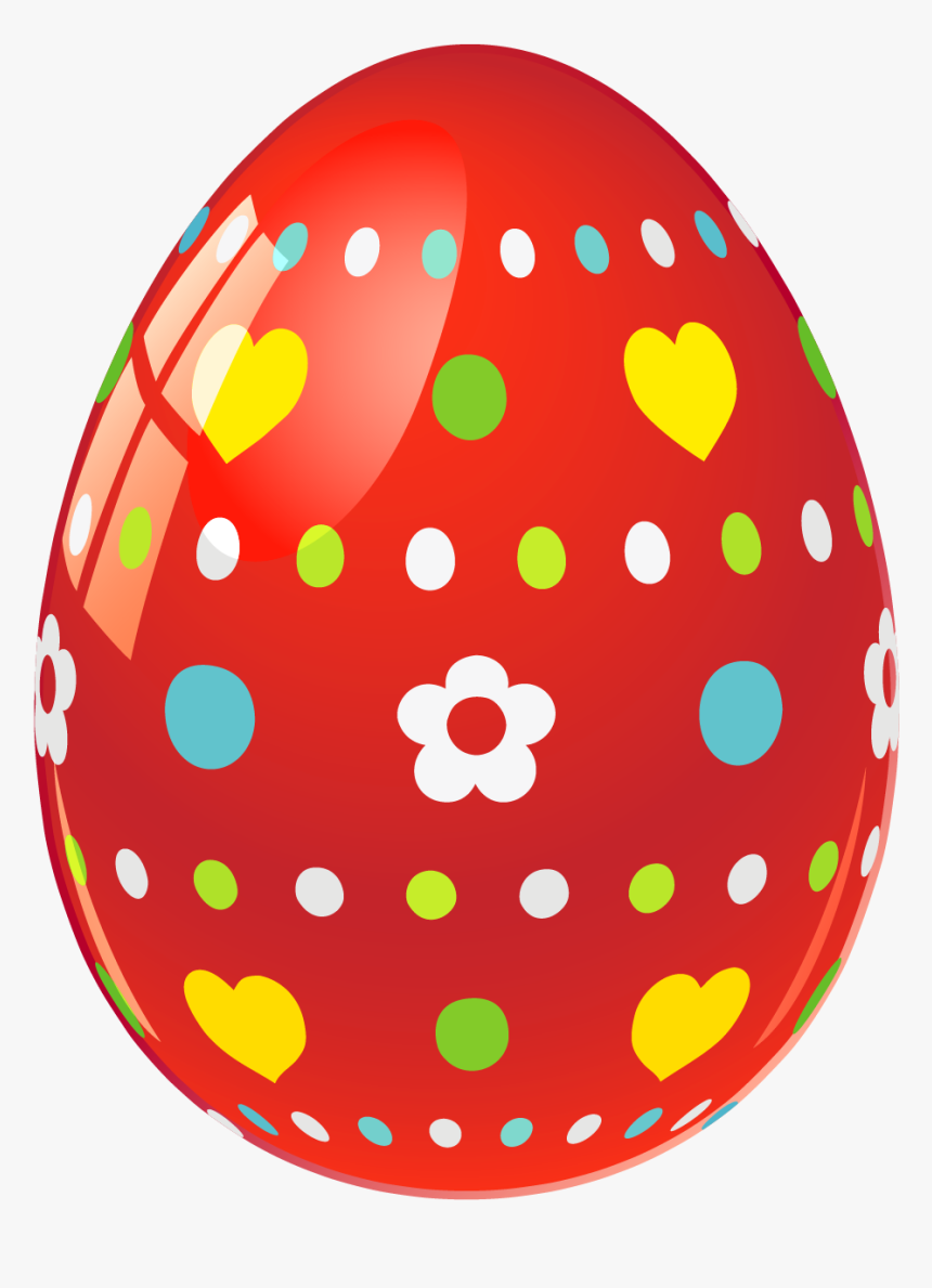 Easter Egg Clipart Red, HD Png Download , Transparent Png ...
