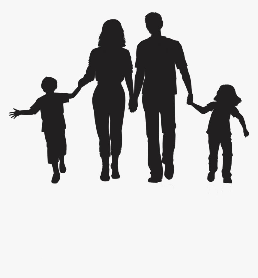Silhouette Family Clip Art Silhouette Family Clipart Png Transparent Png Transparent Png Image Pngitem