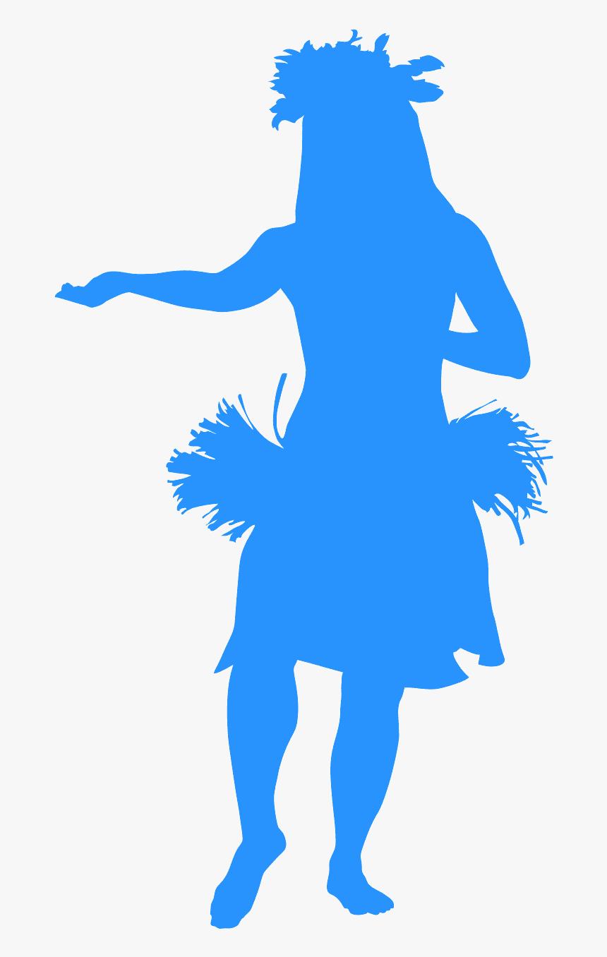 Vector Hula Dancer Silhouette Hd Png Download Transparent Png Image Pngitem