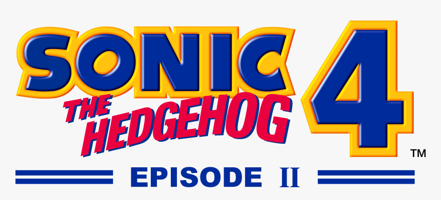 Sonic The Hedgehog Sonic 4 Episode 2 Logo Hd Png Download Transparent Png Image Pngitem