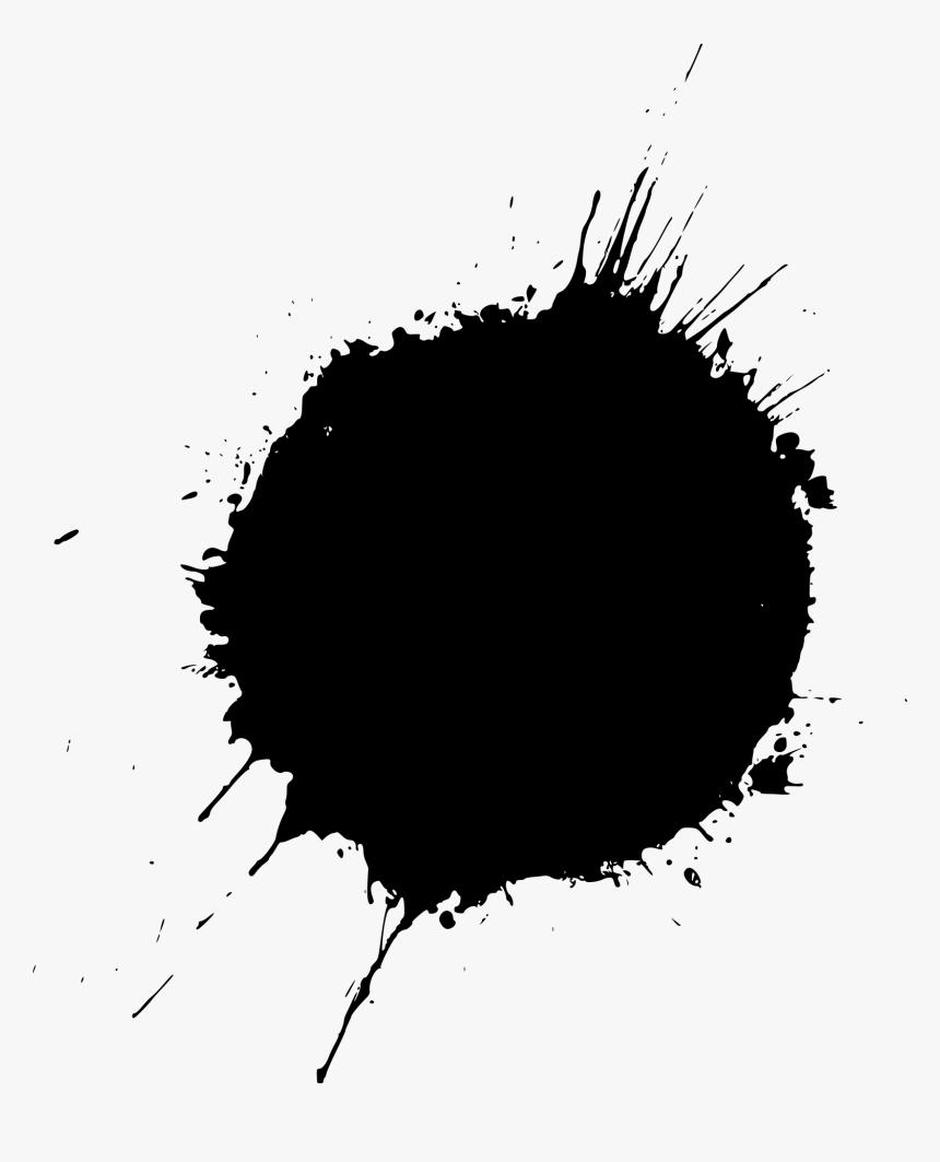 black splash png transparent empty treasure chest clipart - round black