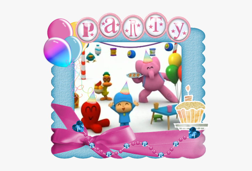 Invitaciones De Pocoyo Para Imprimir Hd Png Download
