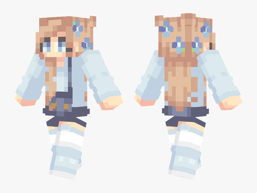 Blonde Hair Minecraft Girl Skins Hd Png Download Transparent Png Image Pngitem