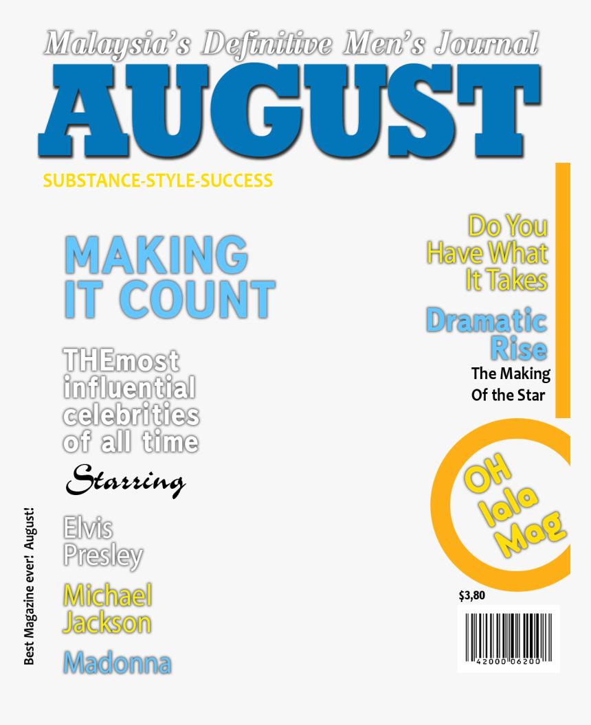 Transparent Magazine Cover Png Fake Magazine Covers Templates Png Png Download Transparent Png Image Pngitem