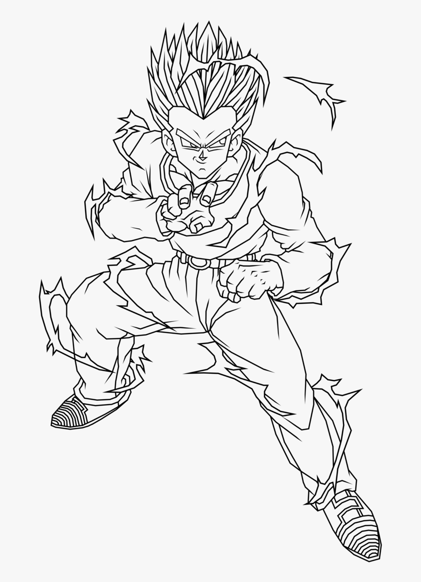 Dragon Ball Z Coloring Pages to Print - Get Coloring Pages | 1188x860