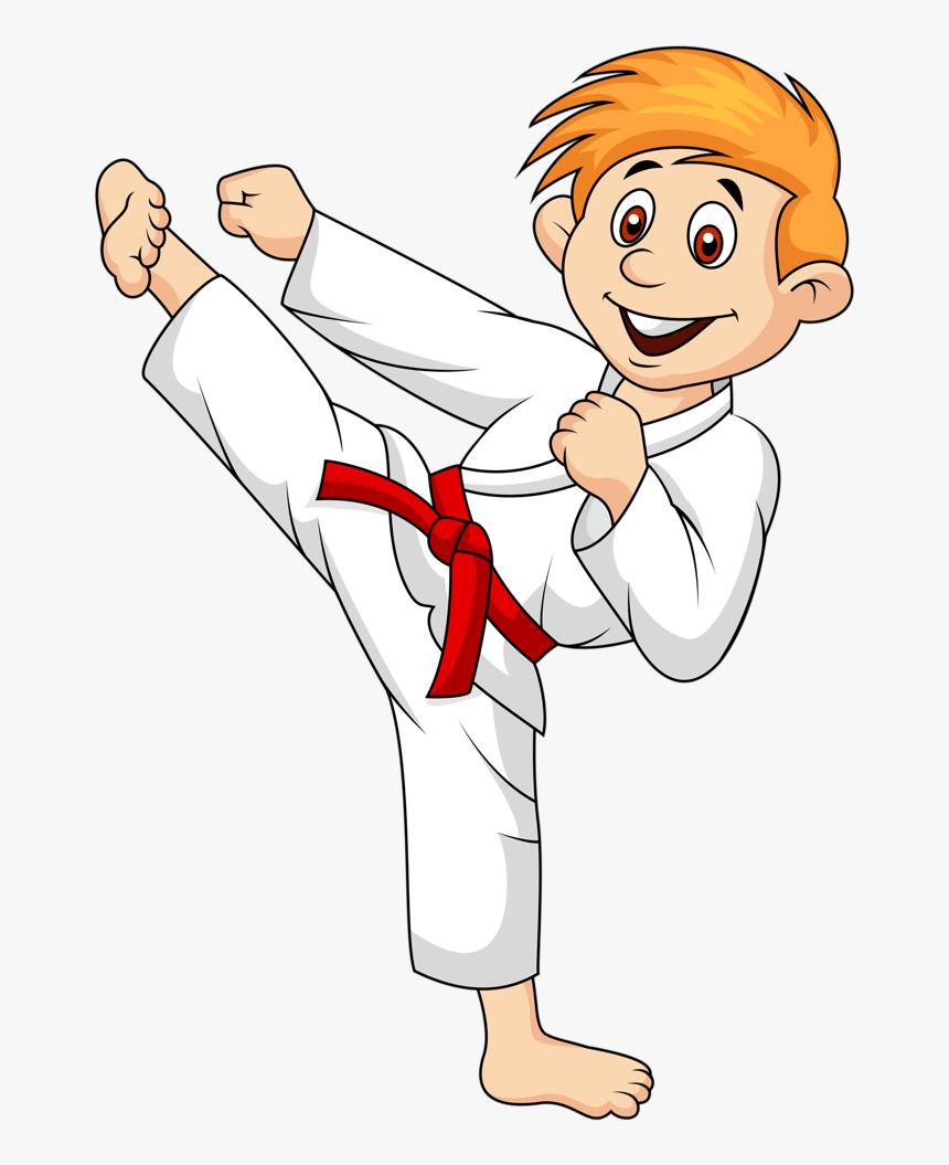 Girl Clipart Martial Arts Karate Cartoon Png Transparent Png Transparent Png Image Pngitem